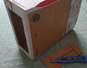 圧縮ゴミ箱作業2