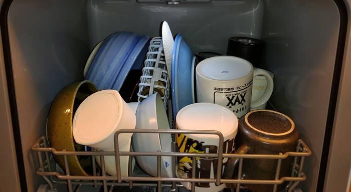 食洗機 食器詰込み