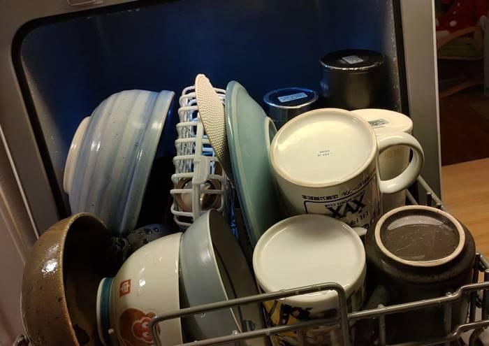 食洗機 洗い上がり