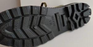 ワークマンレインブーツ靴裏