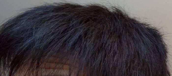 白髪染めが落ちると赤くなる