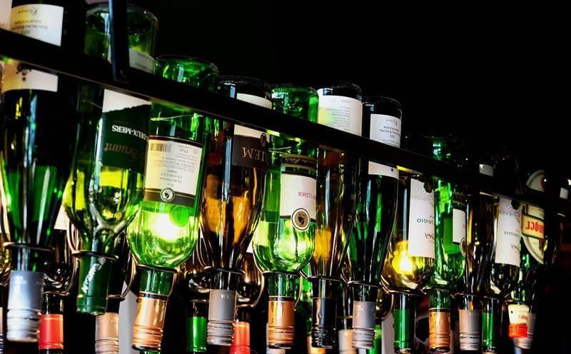 ボトル照明